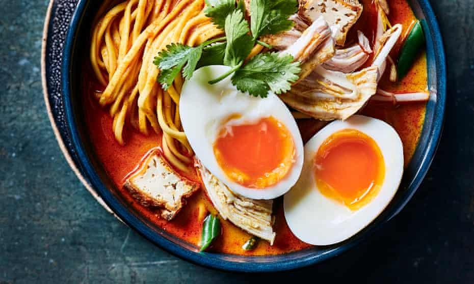 Chicken Laksa by Mandy Yin.