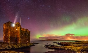 Portencross castle on the Ayrshire coast, chosen by a reder as the best place to visit in Britain.