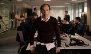 Bitter campaign … Benedict Cumberbatch as Dominic Cummings in Brexit: The Uncivil War.
