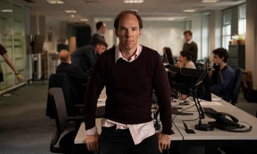 Benedict Cumberbatch as Dominic Cummings in Brexit: The Uncivil War.