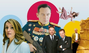 Best of the best... Save Me; The Death of Stalin; Ant & Dec's Saturday Night Takeaway; Divorce; Civilisation.