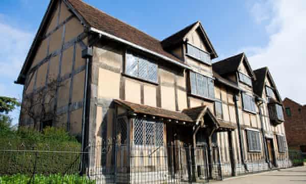 Shakespeare's Birthplace, Stratford-upon-Avon.
