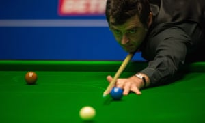 Ronnie O'Sullivan is aiming for a sixth world championship title at the Crucible.
