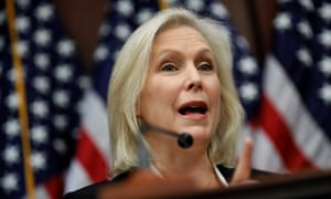 Gillibrand: a strong voice in the Democrats' center.