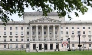 Parliament buildings in Stormont, Belfast