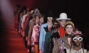 Gucci at Milan fashion week 2016