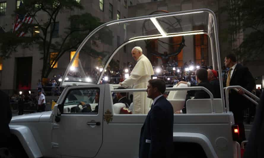 Pope Francis Fifth Avenue