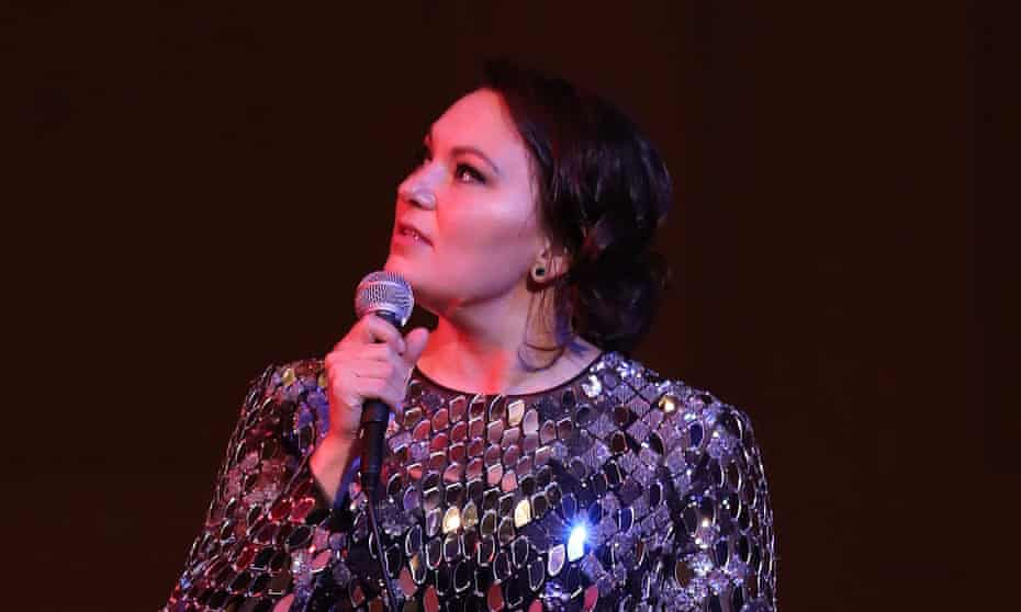 Tanya Tagaq performs at Carnegie Hall in New York, New York on 5 November 2017. 'If you like Inuit throat singing please hire Inuit throat singers,' she said on Twitter.