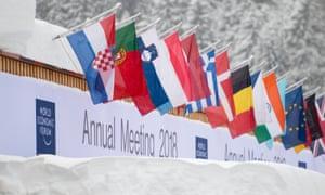 The venue for the World Economic Forum in Davos.