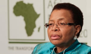 Graça Machel, founder of the Foundation for Community Development.