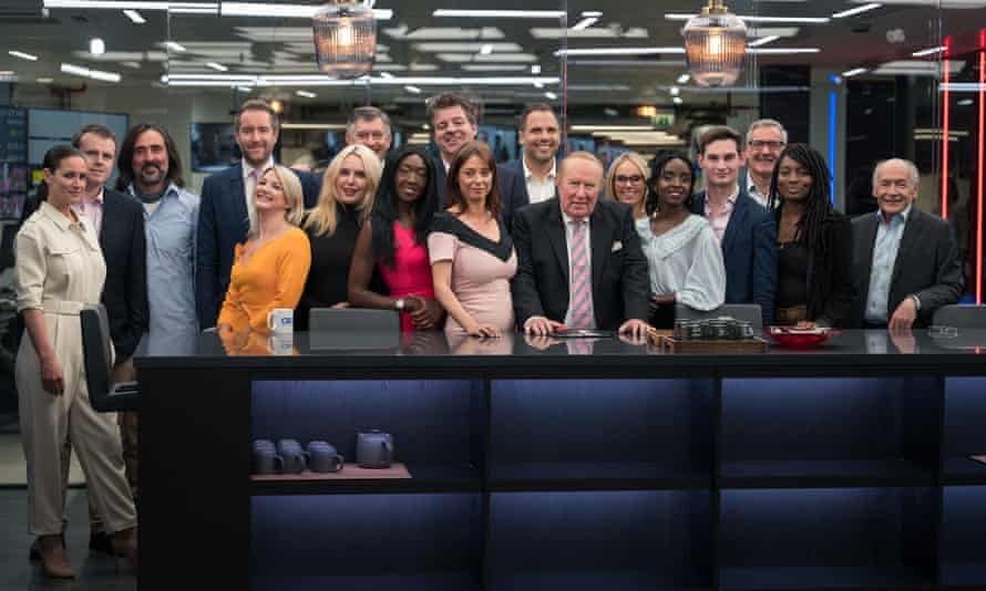 GB News presenters, led by Andrew Neil.