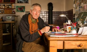 Raymond Briggs at home in Plumpton, East Sussex.