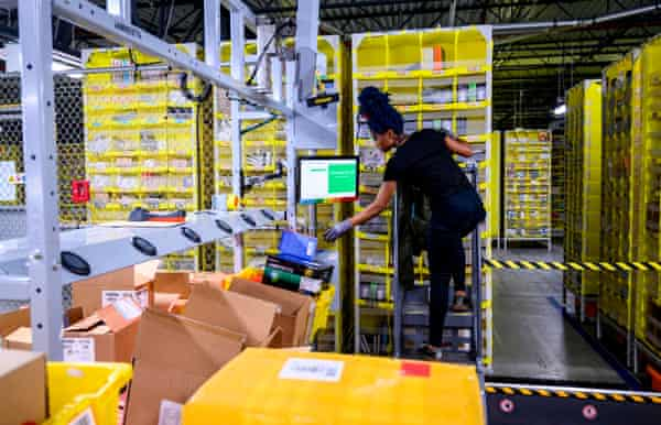 I M Not A Robot Amazon Workers Condemn Unsafe Grueling Conditions At Warehouse Amazon The Guardian
