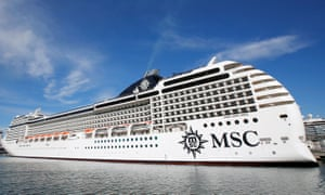 The MSC Poesia in 2019