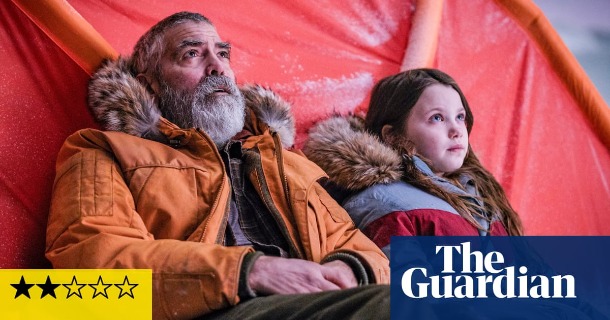 The Midnight Sky review – beardy George Clooney marooned in bland cosmic yarn