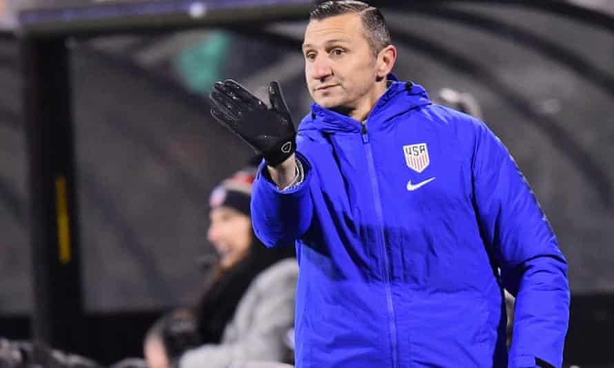 Vlatko Andonovski is the US head coach