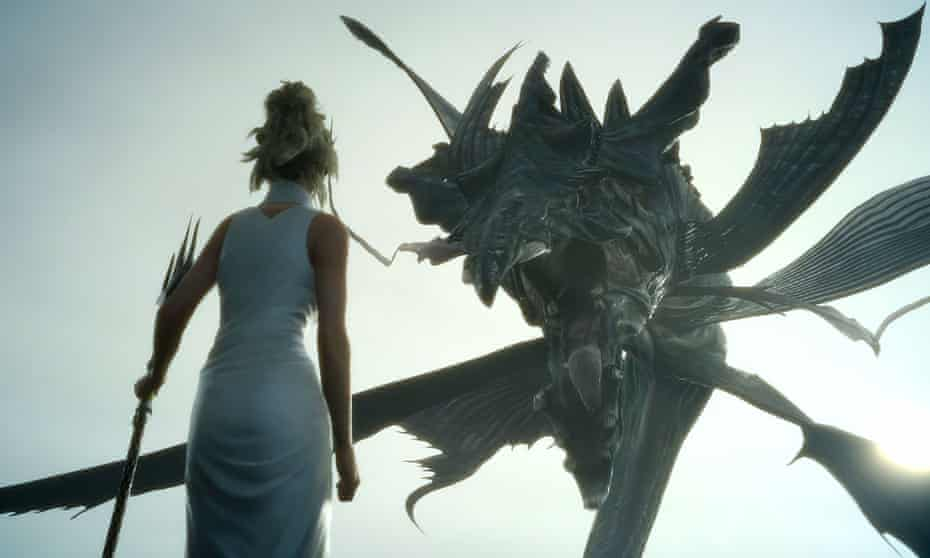 'Game music is expected to be on a level with films' … Final Fantasy XV.