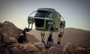 Step on it: the new Elevate from Hyundai combines four legs and four wheels