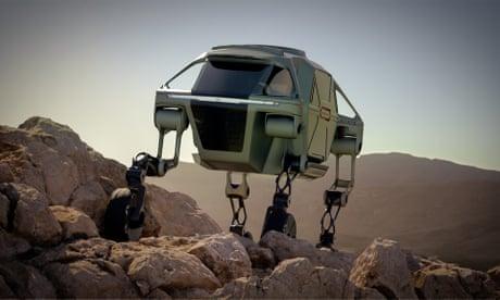 Hyundai Elevate: 'The world's first walking car'
