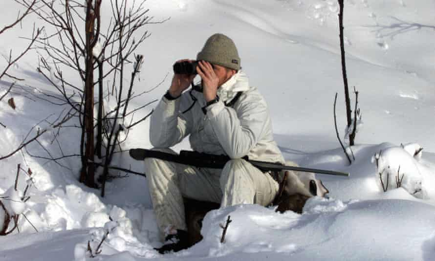A wolf hunter in Norway.