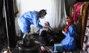 Turkey's population of more than 83 million is spread out across Europe and Asia and covers some seemingly impregnable terrain. The vaccination effort with China's CoronaVac jab kicked off with a bang in mid-January when Turkey innoculated more than a one million people in the first week.