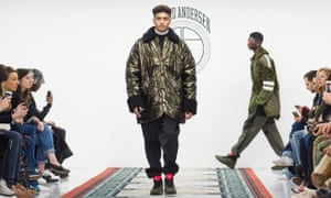Astrid Anderson - Runway - London Collections Men AW16