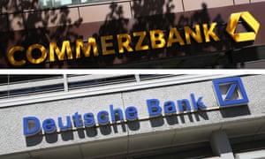 Germany's two biggest lenders, Deutsche Bank and Commerzbank
