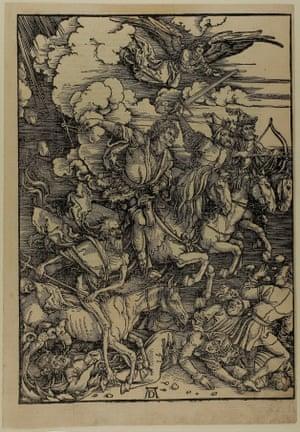 The Four Horsemen of the Apocalypse,  Albrecht Durer