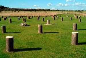 Mysterious … Woodhenge.