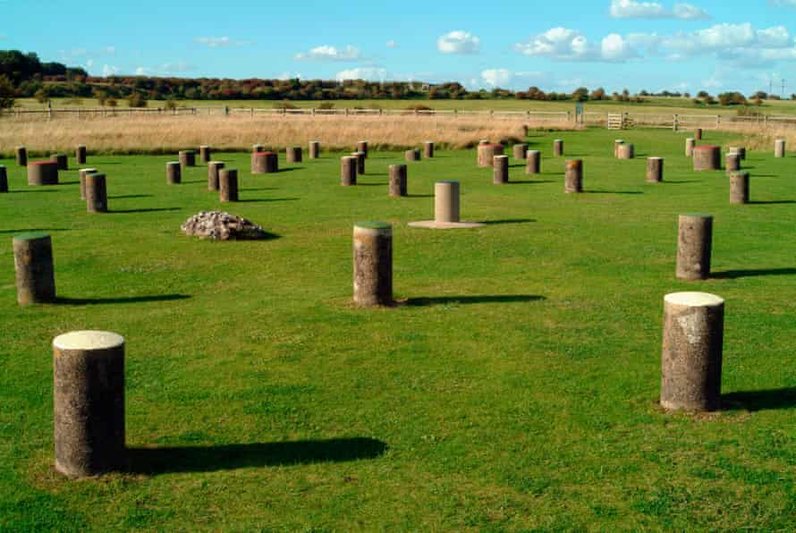 Mysterious … Woodhenge.