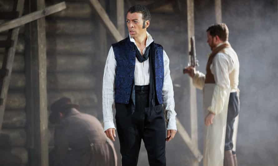 'Subtle psychological insights': Roderick Williams in the title role of Eugene Onegin.