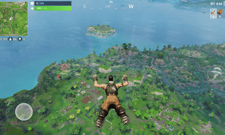 In Fortnite, 100 players fight it out to be the last person standing.