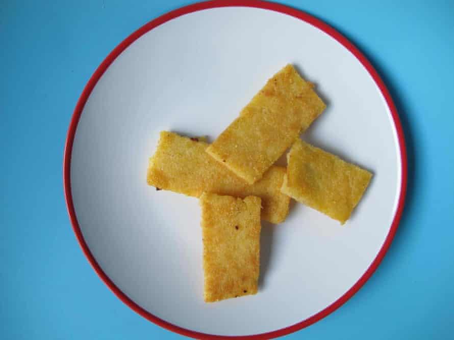 A carb-lover's dream ... BBC Good Food polenta chips.