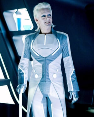 'A kind of Thin White Ziggy Sane' … Michael Sheen in Tron: Legacy