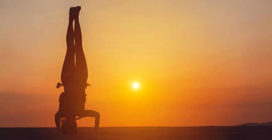 Headstands … 71-year-old Anne Bruinooge did one in every state of the US.