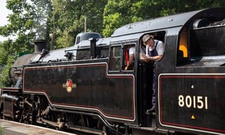 Bluebell Railway steam train