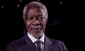 Kofi Annan: 'Australia, Canada, Japan and the Russian Federation should set a clear course for zero emissions by 2050.'