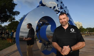 Andy Ridley, the chief executive of Citizens of the Great Barrier Reef.
