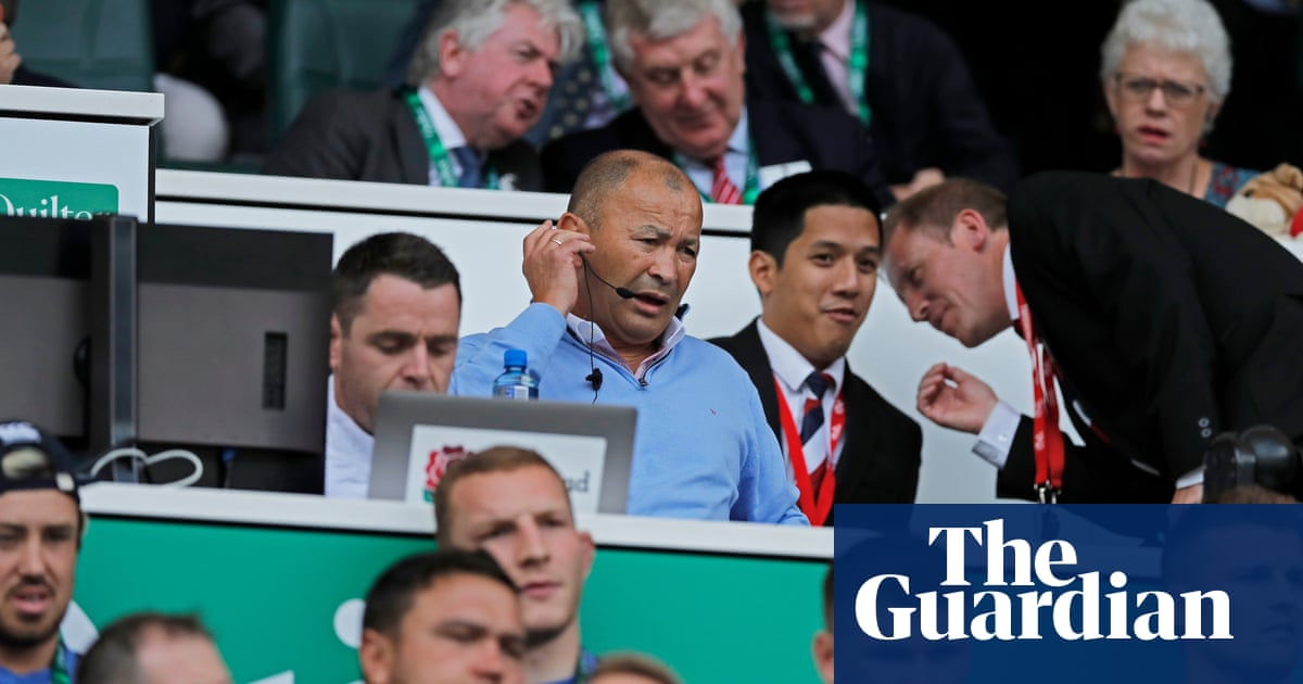 Eddie Jones warns erratic use of red cards could 'destroy' World Cup