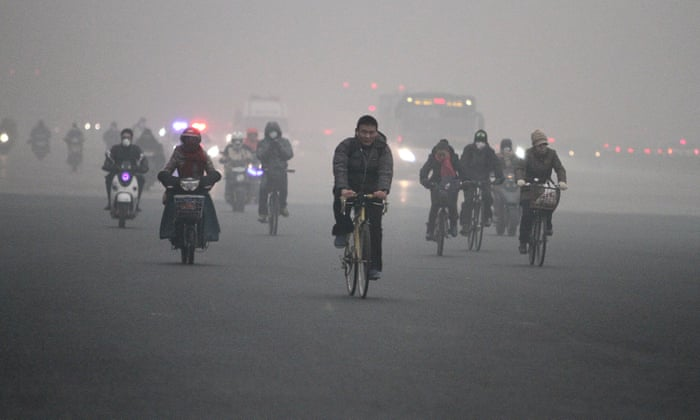health benefits and challenges of cycling in air pollution