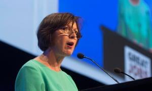 The TUC's general secretary, Frances O'Grady
