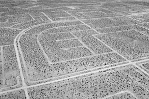 California City, California, 2016A master-planned community in the Mojave desert conceived by Nathan K Mendelsohn in the 1950s. The city was intended to be the next major metropolis in California in response to the unprecedented population and economic growth after the second world war.