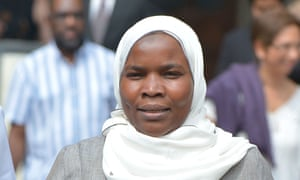 Dr Hadiza Bawa-Garba, who was convicted of gross negligence manslaughter after the death of six-year-old Jack Adcock, after winning her court of appeal challenge over the decision to strike her off