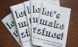 A zine about making zines by zine-mad Marceline Smith