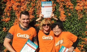 GetUp volunteers gear up for the 2019 federal election campaign. The activist group was subjected to a massive smear campaign and since the election, has faced an avalanche of criticism from both sides of politics.