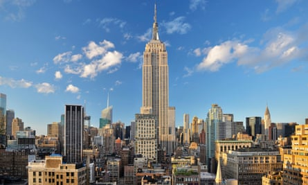 Empire State building, New York, US.