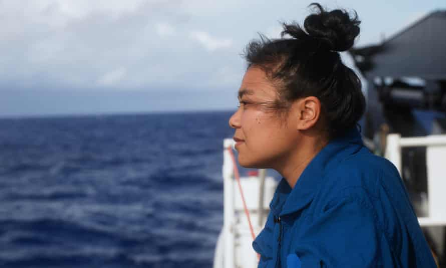 Nicole Yamase, from the Federated States of Micronesia, travelled to the deepest known part of the Mariana Trench.
