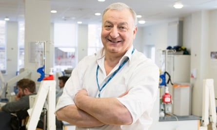 Prof Martin Gore, who has died at the age of 67