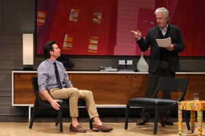 Seminar starring Alan Rickman and Jerry O'Connell, The Golden Theatre, Broadway, 2011
