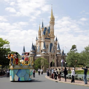 Tokyo Disneyland in Urayasu, Chiba prefecture, Japan.